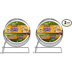 "Wild Harvest Metal Activity Wheel for Small Animals 7"" - Pack of 2"