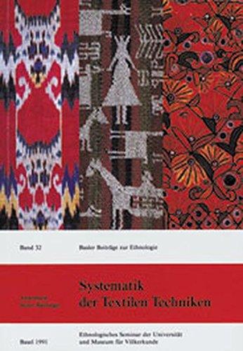 Systematik der Textilen Techniken