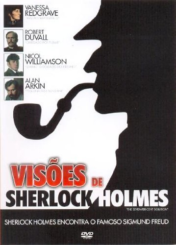 Visoes de Sherlock Holmes - (The Seven-Per-Cent Solution) by Alan Arkin