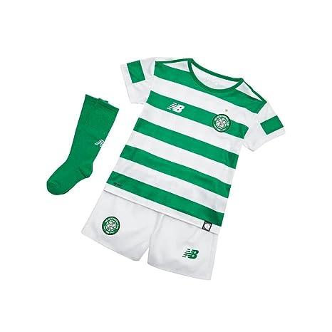separation shoes 0ca8c 3e4ef New Balance Celtic FC Junior Home Replica Set 2018-19 ...