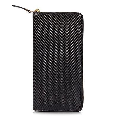593e105d715d Comme Des Garcons WALLET Luxury Long Zip Around Purse Black (SA0110LG)   Amazon.co.uk  Shoes   Bags