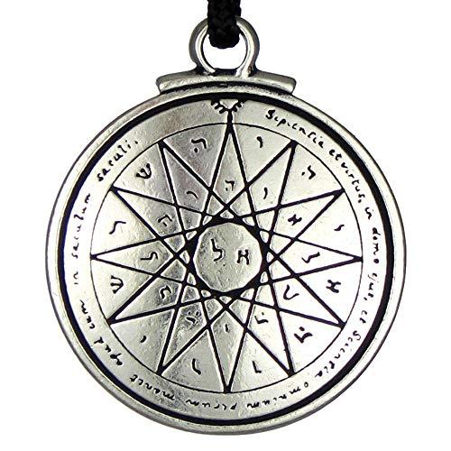 Talisman of Wisdom Key of Solomon Pentacle Seal Pendant Hermetic Enochian Kabbalah Pagan Wiccan ()