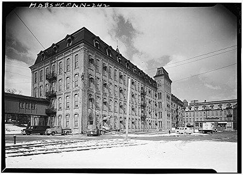 Photo: Ponemah Mills,Main Street,Taftville,New London County,Connecticut,CT,HABS,3