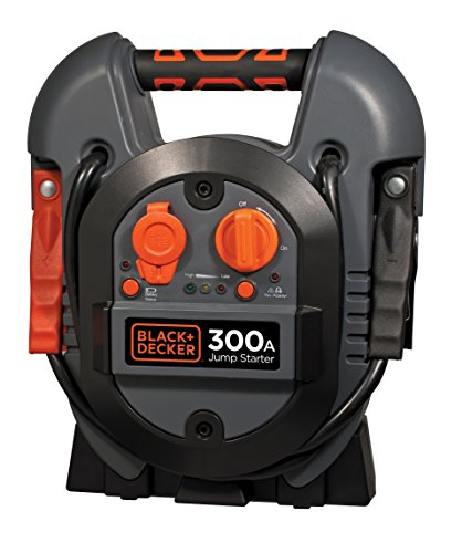 BLACK+DECKER J312B Power Station Jump Starter: 600 Peak/300 Instant Amps