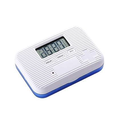 Caja de recordatorio de medicamentos Reloj despertador inteligente Compacto portátil Mini pastillas de almacenamiento Dispensador Semanal