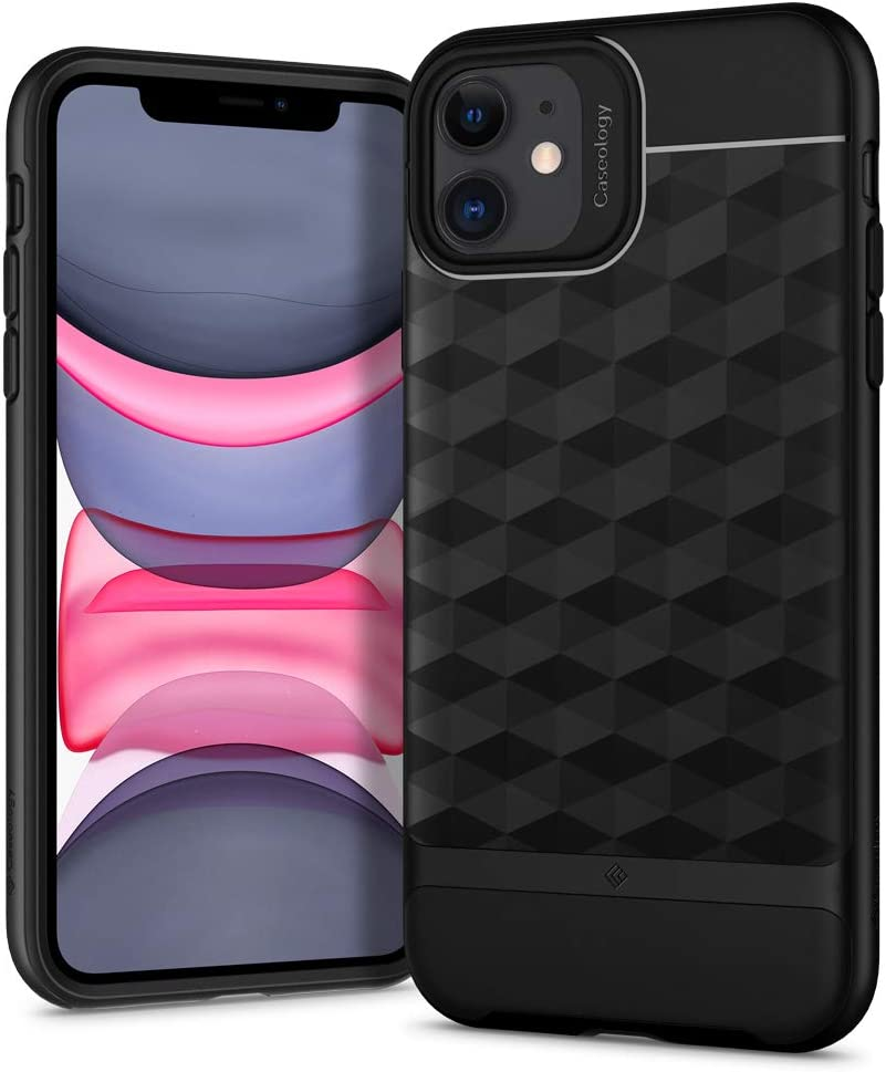 Caseology Parallax for Apple iPhone 11 Case (2019) - Matte Black