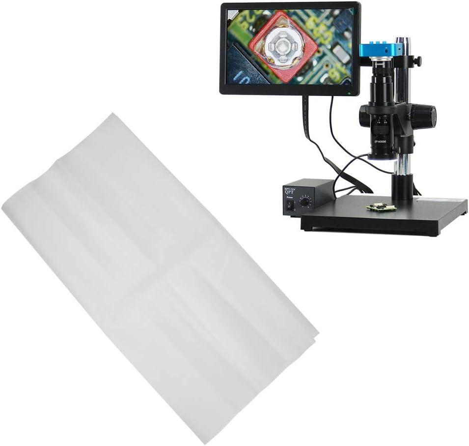 Oumefar 480x490mm Kunststoff-Innenmikroskop-Staubschutz f/ür das Labor