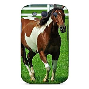 Galaxy Cover Case - The Horse On The Catwalk Protective Case Compatibel With Galaxy S3
