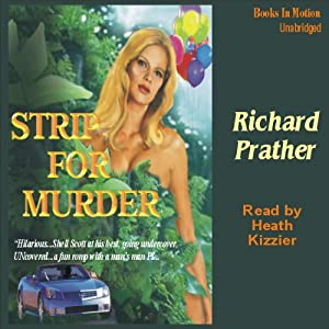 Strip for Murder Audiobook