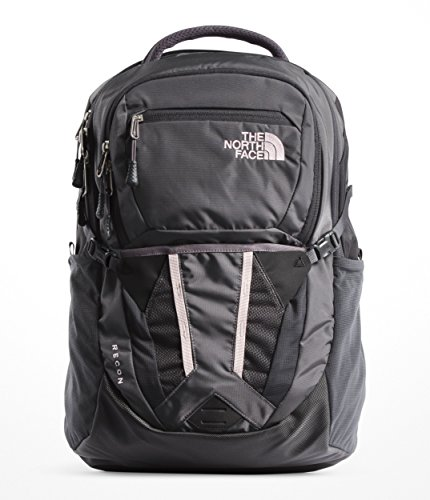 The North Face Side Zip Backpack - The North Face Women's Recon - Rabbit Grey & Asphalt Grey - OS