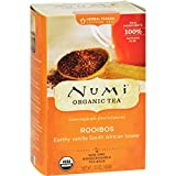 Numi Tea Organic Rooibos - Caffeine Free - 18 Bags - 95%+ Organic - 100% Real Ingredients