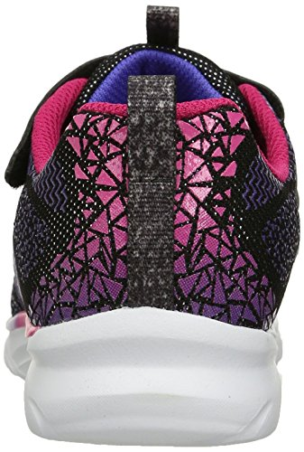 Skechers Kinder Nebelfleck Prisma Pop Sneaker (Little Kid / Big Kid), Schwarz / Multi