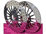 ROTORS FOR HARLEY SOFTAIL DYNA SPORTSTER SPOKE STYLE BRAKE ROTOR