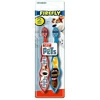 Dr. Fresh Firefly The Secret Life of Pets 2 Piece Toothbrush Blister
