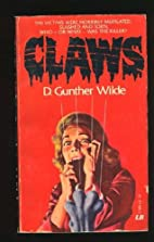 Claws by D. Gunther. Copyright Paperback…