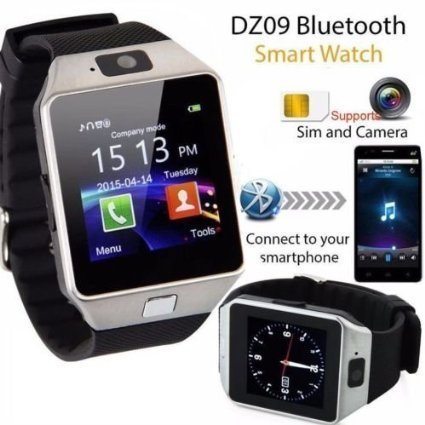 Cubee-Bluetooth-Smart-Watch-DZ09-Phone-With-Camera-and-Sim-Card-SD-Card-Support-With-Apps-like-Facebook-and-WhatsApp-Touch-Screen-Multilanguage-AndroidIOS-Mobile-Phone-Wrist-Watch-Phone-with-activity-