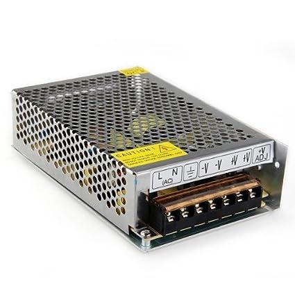 Transformador Corriente de AC 110V 220V a DC 12V 8.5A 100W para Bombillas LED