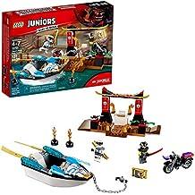 LEGO Juniors Zane's Ninja Boat Pursuit 10755 Building Kit (131 Piece)