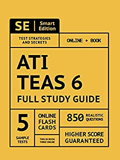 ATI TEAS Science Flashcard Study System: TEAS 6 Test