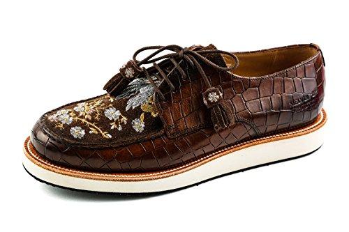 Chaussures Melvin Hamilton Lacets pour Femme MH15 amp; Marron Ville Marron de 1016 à qHZHI6Cw
