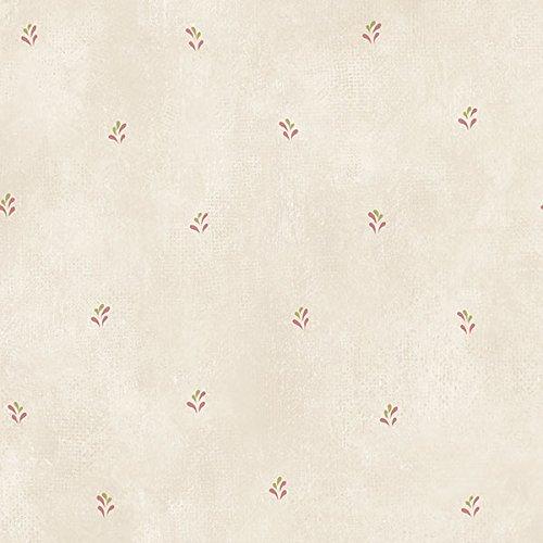 Manhattan Comfort NWKE29904 Roanoke Leaves Harlequin Textured Wallpaper, Pink Multi-Colored