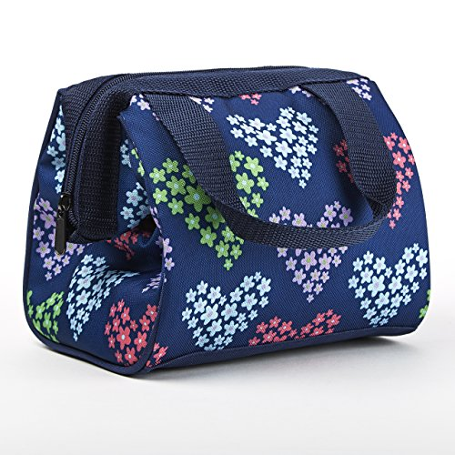 fit-fresh-kids-riley-insulated-lunch-bag-with-zipper-cute-school-lunch-box-for-girls-navy-heart-flow