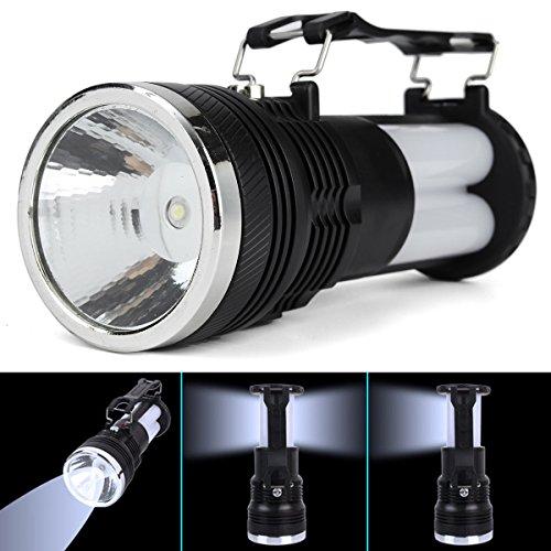 1w solar led flashlights solar tent light white light - 8