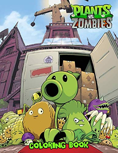 Plants vs Zombies Coloring Book: Great Coloring Book