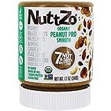 NUTTZO Smooth Peanut Butter, 12 OZ