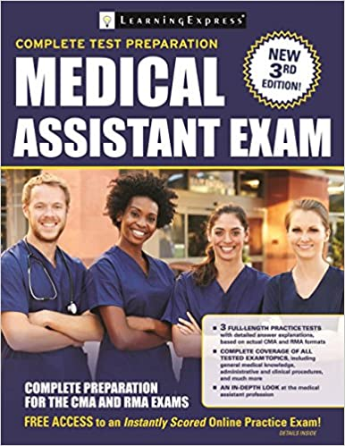 Medical assistant exam preparation for the cma and rma exams medical assistant exam preparation for the cma and rma exams 9781611030976 medicine health science books amazon fandeluxe Gallery