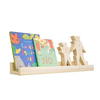 f3859e82e68 Set 2 Repisas Montessori Flotante Librero de Madera Moderna Cuentos  Infantiles Kit
