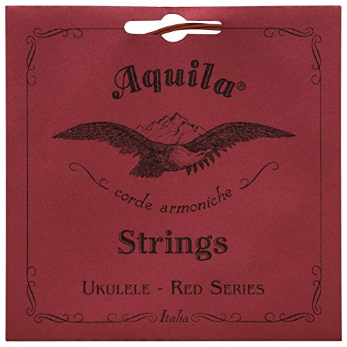 Aquila Red Series AQ-83 Soprano Ukulele Strings - High G - 1 Set of 4