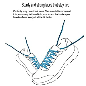 3 Pairs Shoelaces CaseHQ Flat Shoe Laces 52 inch Strings Flat Athletic Shoelaces Elastic Shoe Laces for Running Shoes Sports Shoes Sneakers Boots Skates Board Shoes Casual Shoes