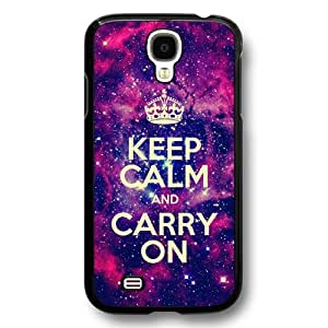 Onelee(TM) - Keep Calm And Carry On Hard Plastic Case Cover for Samsung Galaxy S4 - The Starry Sky Series - Black17