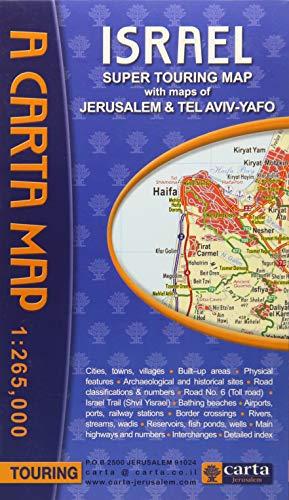 Carta's Israel Super Touring Map