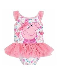 LEMONBABY Baby Girls Cute Peppa Pig One-Piece Bikini Swimsuit