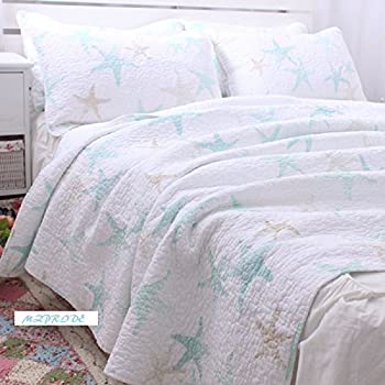 Amazon Com Mzpride Ocean Theme Starfish Bedding Set