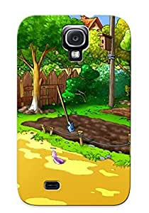 Slim Fit Tpu Protector Shock Absorbent Bumper Cartoon Farm Case For Galaxy S4