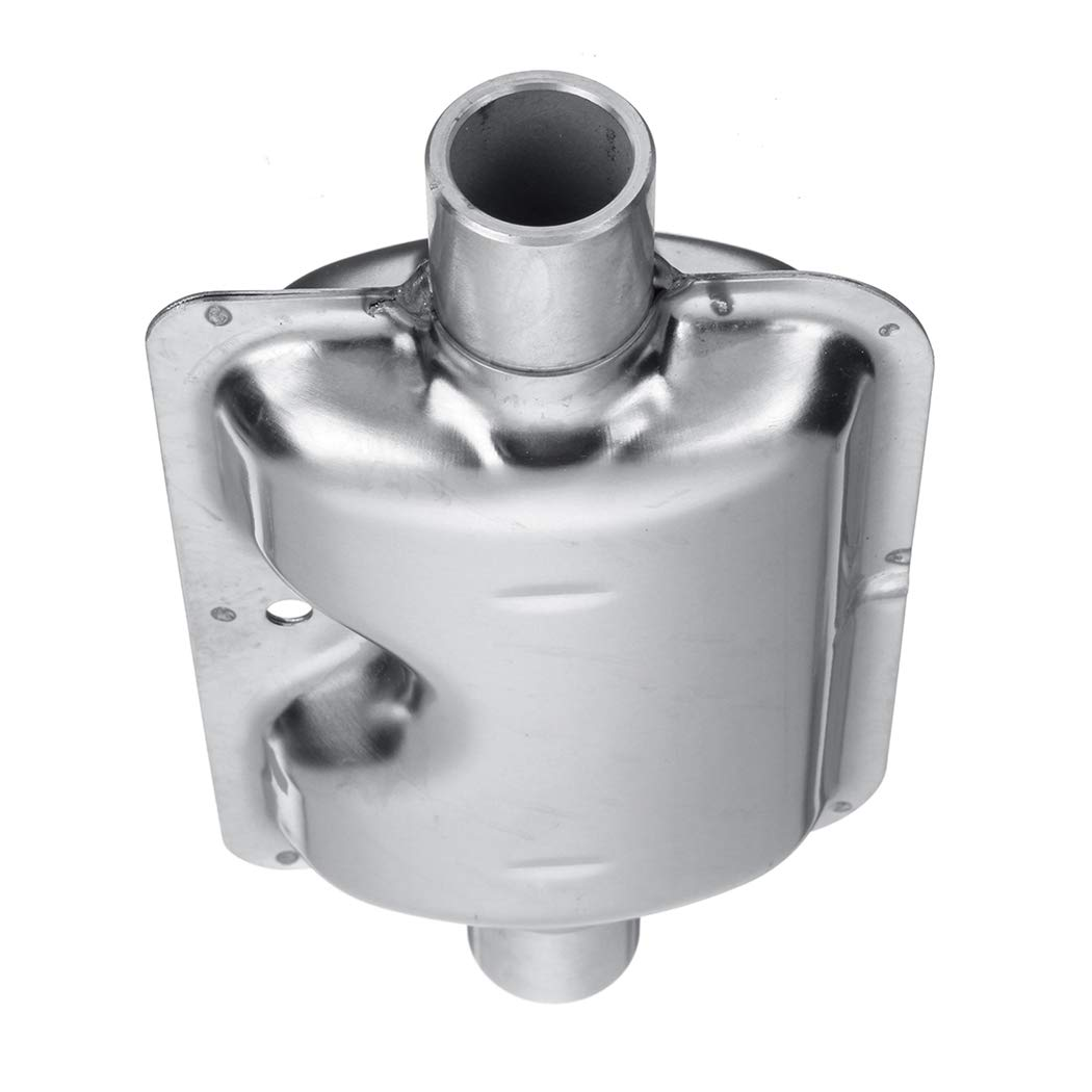 Fansport Calentador De Diesel Silenciador De Escape Silenciador De Tubo Abrazaderas Soporte