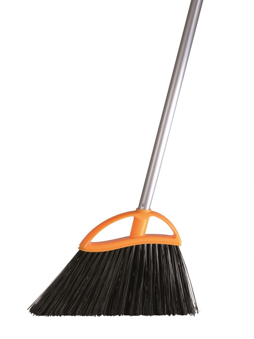 Ariston 130/C Arco Midi Angle Broom with Handle, One Size, Black Ariston _130/C