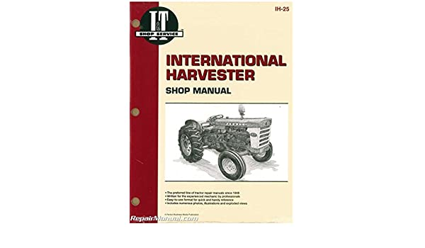 ih 25 international harvester 2606 460 560 606 and 660 tractor rh amazon com International 4700 Wiring Diagram ih 606 wiring diagram
