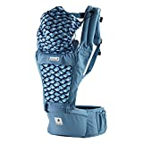 SINNAYEO - Orga Blueberry Organic Cotton Baby Hip Seat Carrier