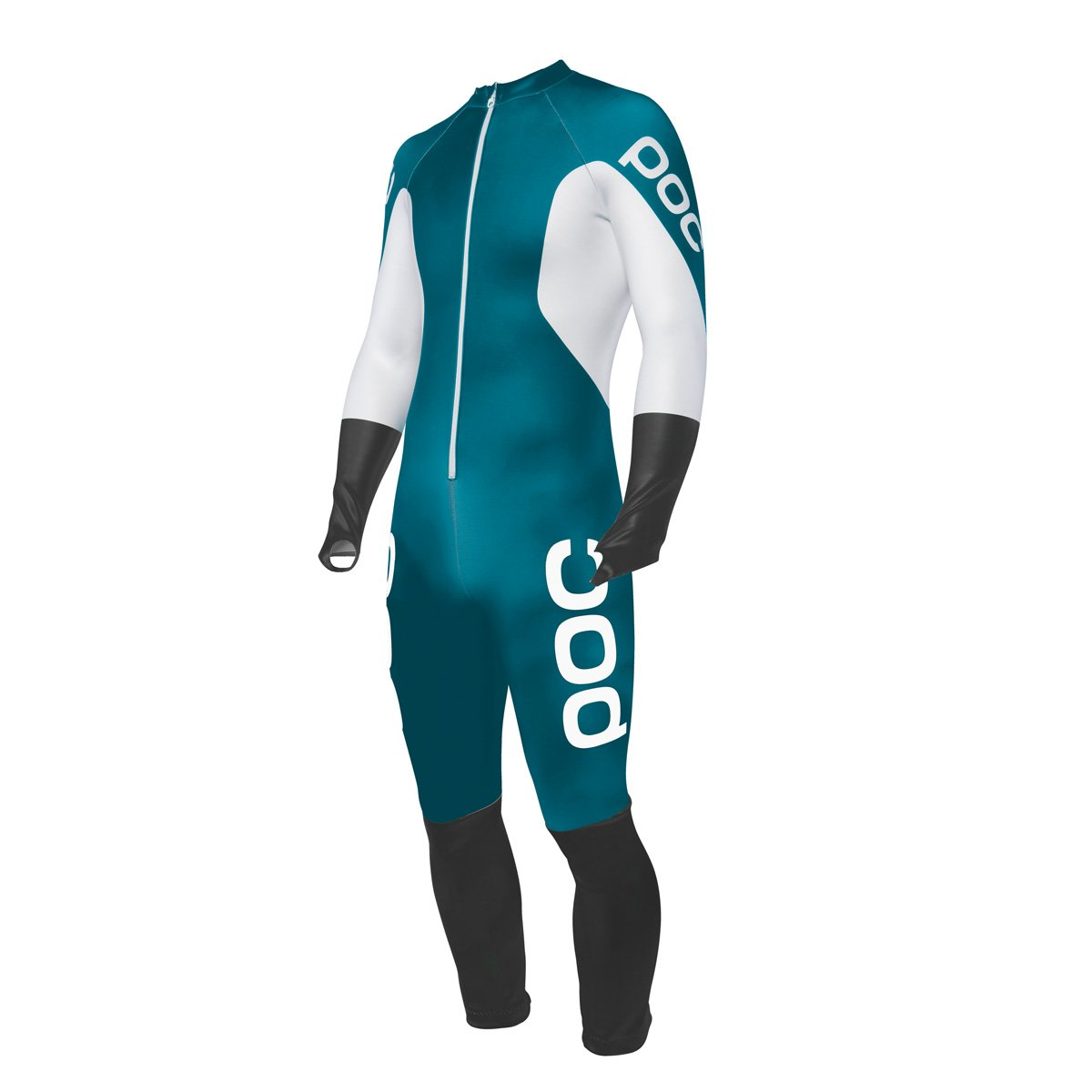 POC Skin GS Jr Suit Butylene Blue/Hydrogen White 140 by POC