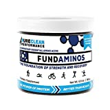 Essential Amino Acid Powder: FundAminos - Jar (30 Serving - 195G), Vegan, Great Tasting, Naturally Fruit-Flavoured, Best Priced, Compare to MAP and PerfectAmino, 30 Servings