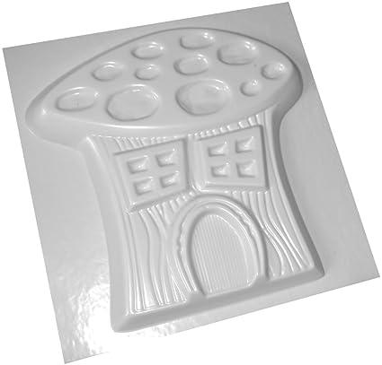 Hada Casa Seta Cemento molde moldes de plástico ABS