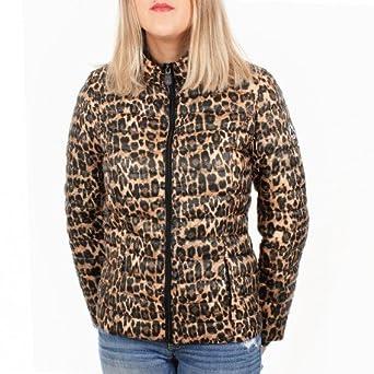Doudoune jott femme leopard