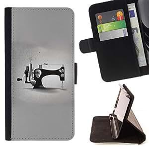 For LG G4 Stylus / G Stylo / LS770 H635 H630D H631 MS631 H635 H540 H630D H542 Case , Diseñador Gris Moda Minimalista- la tarjeta de Crédito Slots PU Funda de cuero Monedero caso cubierta de piel