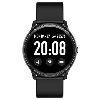 Kiarsan KW19 Waterproof IP67 Blood Pressure Heart Rate Monitor Sport Smartwatch