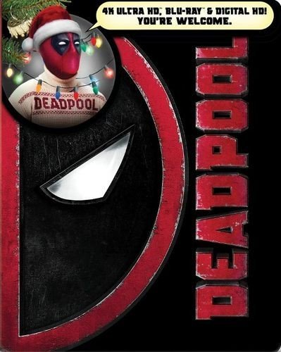 DEADPOOL: Limited Edition Steelbook (4K UHD/Blu-ray/Digital)