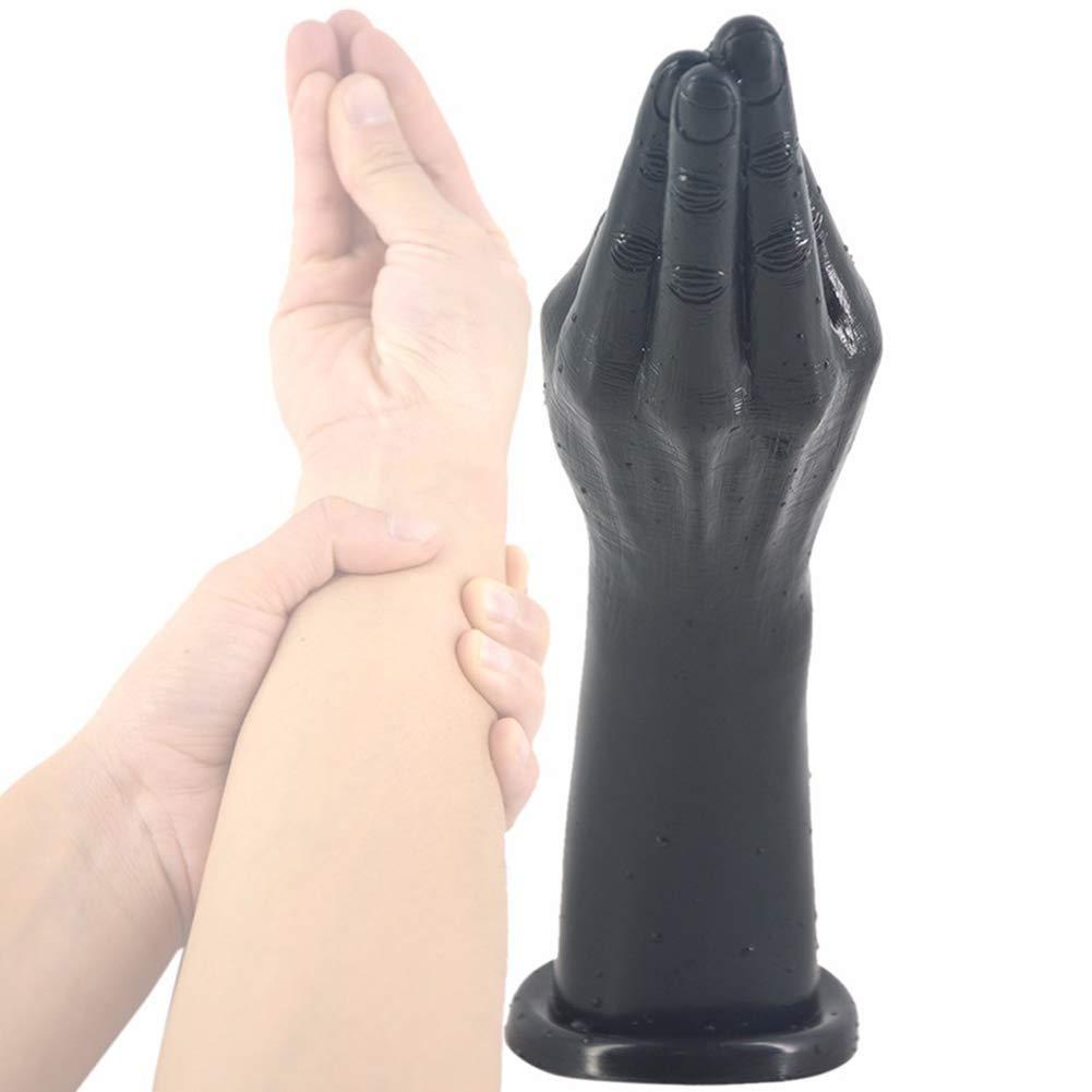 Pene De Simulación De Gran La Mano De Venus Súper Gran De Fisting Áspera Súper Largo Característica Enorme Plug Anal,negro badb5f